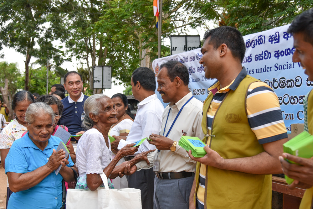 Needy Households in Sri Lanka Receive Shopping Vouchers from Tzu Chi (2019)