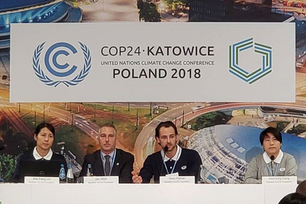 Tzu Chi Attends UN Climate Change Conference in Poland