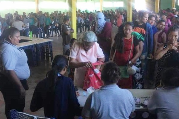 Overcoming Difficult Challenges to Distribute Aid in Honduras