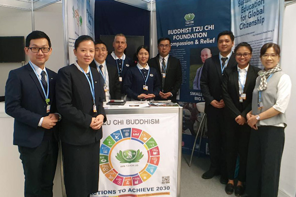Tzu Chi USA Endorsed as United Nations Environment Programme Observer