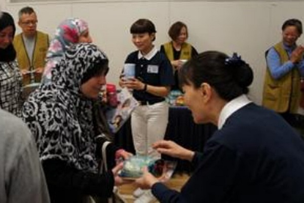 Summer Aid Distribution for Refugees in Burnaby, Canada