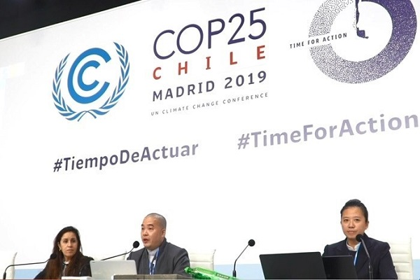 Tzu Chi Showcases its Eco Products at COP25 in Spain