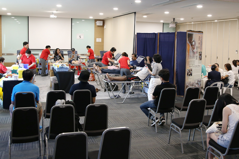Tzu Chi Holds First Quarterly Blood Drive at SAFRA