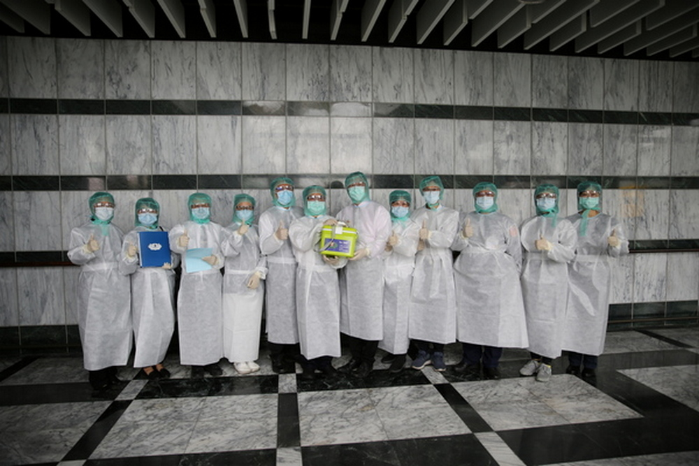 Overcoming obstacles to collect a donated bone marrow from Taiwan amid the pandemic
