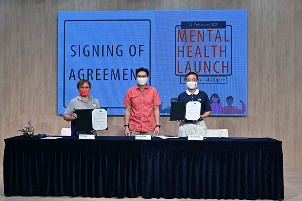 Tzu Chi Signs MOU with Silver Ribbon to Promote Mental Health