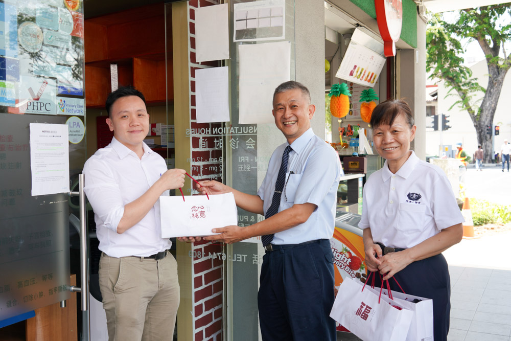 Heartwarming gesture of love and blessings to TIMA members admidst COVID-19