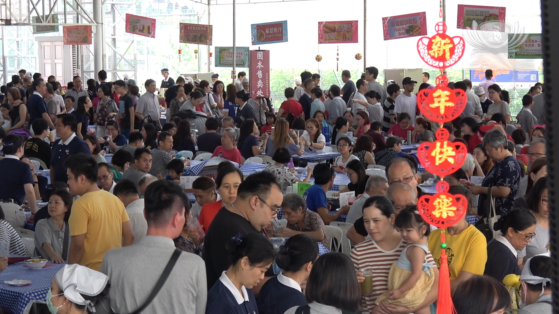 Loving Hearts Gather at Tzu Chi's Festive Bazaar